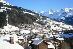 Le Grand Bornand Royalty Free Stock Image