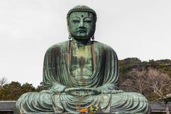 Le grand Bouddha à Kamakura Photographie stock