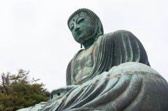 Le grand Bouddha (Daibutsu) dans Kotoku-dans le temple, Kamakura, J Photos libres de droits