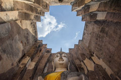 Le grand Bouddha, dans le temple de copain de Sri photographie stock