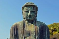 Le grand Bouddha de Kamakura Images libres de droits