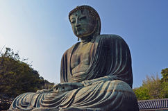 Le grand Bouddha de Kamakura Image stock