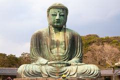 Le grand Bouddha de Kamakura, Japon Images stock