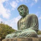 Le grand Bouddha du temple de Kotokuin à Kamakura Image libre de droits