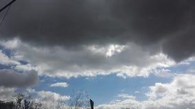 Le grand ciel de l'endroit de San Diego Photographie stock