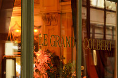 Le Grand Colbert. Taken from the name of Louis XIV's famous minister, a well versed man on French cuisine in which some dishes still refer to his celebrity, is Royalty Free Stock Images