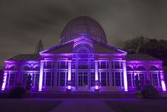 Le grand conservatoire en parc de Syon photographie stock libre de droits
