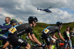 Le Grand Depart 2014 Photos libres de droits