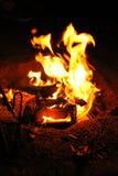 Le grand feu Image libre de droits