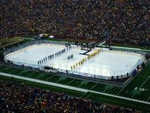 Le grand froid à l'hymne national de grande Chambre photo stock