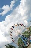 Le grand huit roule en haut et en bas Photos libres de droits