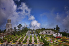 Le grand jardin Photo stock