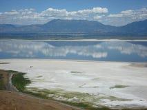 Le Grand Lac Salé Photo libre de droits