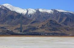 Le Grand Lac Salé en Utah Image stock