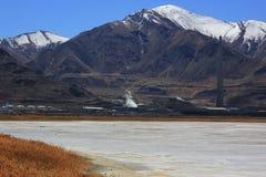 Le Grand Lac Salé en Utah Images stock