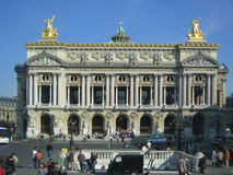 Le Grand Opera. One of the best theaters of the globe Royalty Free Stock Photography