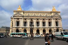 Le Grand Opera House, Paris, France Royalty Free Stock Images