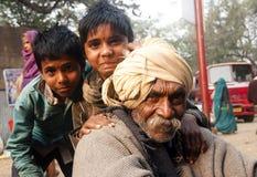 Le grand-père Photographie stock libre de droits