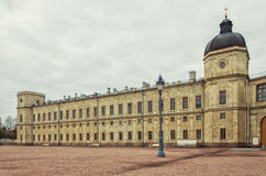 Le grand palais dans Gatchina Images stock