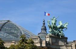 Le Grand Palais, a place for exhibition in Paris Stock Images