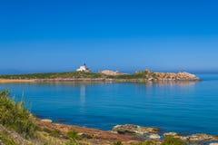 Le grand phare. The big phare in Jijel Algeria Stock Photo