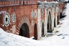Le grand pont au-dessus du ravin Images stock