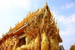 Le grand serpent de sept têtes, Nan, Thaïlande Image stock