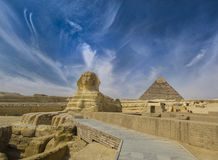 Le grand sphinx Photo stock