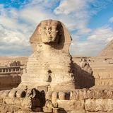 Le grand sphinx ? Gizeh photo stock
