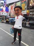 Le grand tournoi du basket-ball 10 vient à New York Images libres de droits