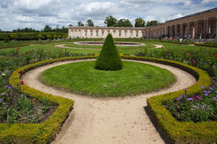 Le Grand Trianon in the park of Versailles Stock Image