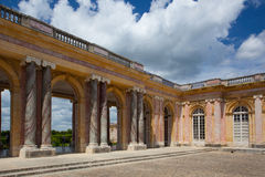 Le Grand Trianon in the park of Versailles Royalty Free Stock Image
