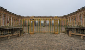 Le Grand Trianon. Versailles, France, January 12, 2014. Le Grand Trianon in the park of Versailles Palace Stock Images