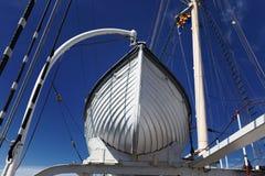 Le grand voilier marchand Pommern de bateau Image libre de droits