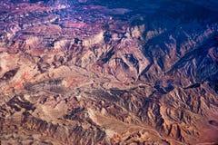 Le grandi montagne Fotografie Stock