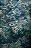 Le grandi nubi di tempesta potenti Fotografie Stock Libere da Diritti