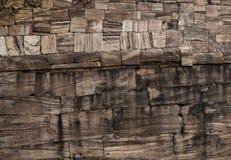 Le granit bascule le monochrome de fond de mur photos libres de droits