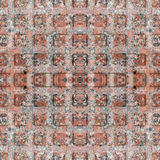 Le granit sans couture ajuste le trottoir Texture, fond Photos stock