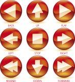 Le graphisme de medias a placé (4of4) (le vecteur) illustration de vecteur