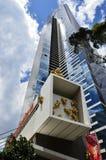 Le gratte-ciel de Skydeck d'Eureka à Melbourne du centre Images libres de droits
