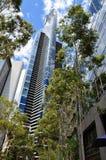 Le gratte-ciel de Skydeck d'Eureka à Melbourne du centre Photos stock