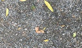 Le gravier écrasé lapide des roches de construction de pierres de texture Image libre de droits