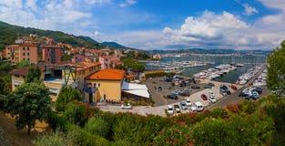 Le Grazie в Cinque Terre - Италии Стоковая Фотография