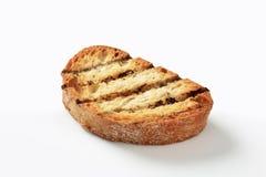 Le gril a grillé le pain Photographie stock
