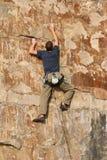 Le grimpeur 2 images libres de droits