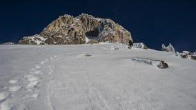 Le grimpeur image stock