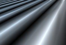 Le gris abstrait ondule le fond Photos stock