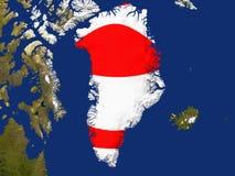 le Groenland Image libre de droits