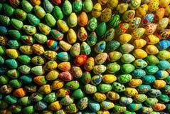 Le groupe d'oeufs de pâques aiment le faisceau Photographie stock libre de droits