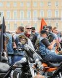Le groupe de cyclistes de Krasnodar photo stock